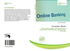 Bookcover of Investec Bank