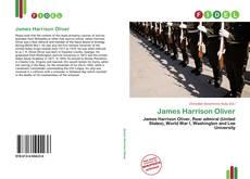 Bookcover of James Harrison Oliver