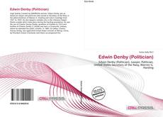 Portada del libro de Edwin Denby (Politician)