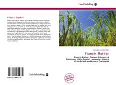 Portada del libro de Francis Barber