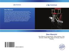 Bookcover of Don Mancini