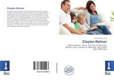 Portada del libro de Clayton Rohner