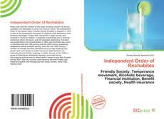 Portada del libro de Independent Order of Rechabites
