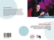 Обложка John Rubinstein