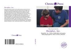 Borítókép a  Decipher, Inc. - hoz