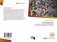 Copertina di Christine Elise