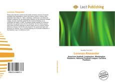 Bookcover of Lorenzo Alexander