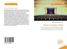 Bookcover of Avery Fisher Hall