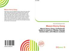 Bookcover of Mason Henry Gang