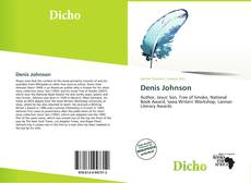 Bookcover of Denis Johnson