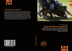 Portada del libro de Greg Hill (Running Back)