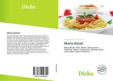 Capa do livro de Mario Batali