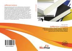 Bookcover of Jefferson Lecture