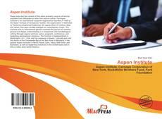 Aspen Institute kitap kapağı
