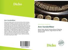 Bookcover of Ann VanderMeer