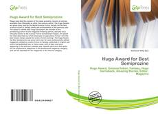 Bookcover of Hugo Award for Best Semiprozine