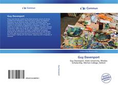 Bookcover of Guy Davenport