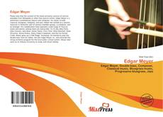 Buchcover von Edgar Meyer