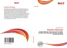 Bookcover of Heather McHugh