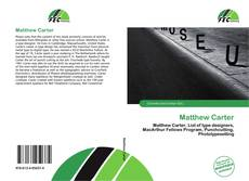 Bookcover of Matthew Carter