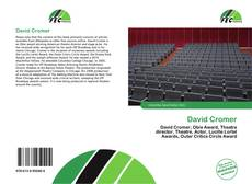 Bookcover of David Cromer