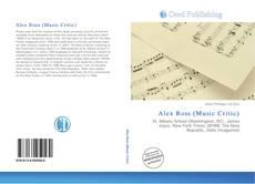 Copertina di Alex Ross (Music Critic)