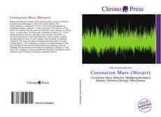Coronation Mass (Mozart) kitap kapağı