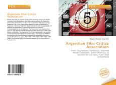 Обложка Argentine Film Critics Association