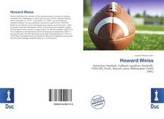 Bookcover of Howard Weiss