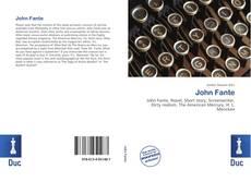 Обложка John Fante