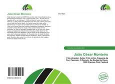 Buchcover von João César Monteiro
