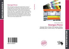 Couverture de Georges Perec