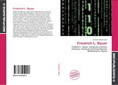 Buchcover von Friedrich L. Bauer