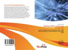 Bookcover of Fortran 95 Language Features
