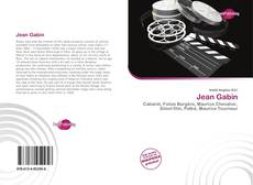 Capa do livro de Jean Gabin