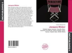 Portada del libro de Jacques Weber