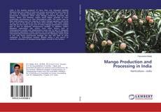 Portada del libro de Mango Production and Processing in India