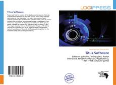 Bookcover of Titus Software