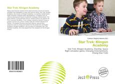 Bookcover of Star Trek: Klingon Academy
