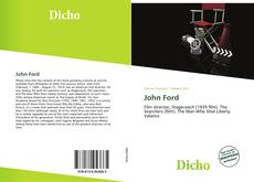 Bookcover of John Ford