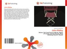 Bookcover of John Ridley