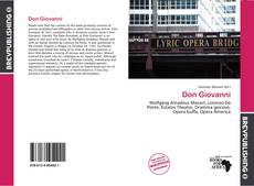Don Giovanni kitap kapağı