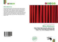 Bookcover of Miles Malleson
