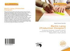 Capa do livro de Martin Laing (Production Designer)