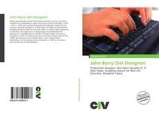 Capa do livro de John Barry (Set Designer)