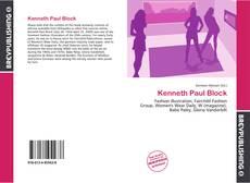 Borítókép a  Kenneth Paul Block - hoz