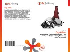 Bookcover of Guy Gilles