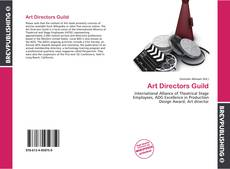 Couverture de Art Directors Guild