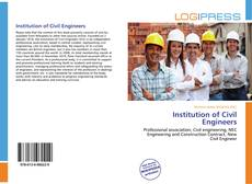 Bookcover of Institution of Civil Engineers