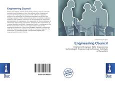 Couverture de Engineering Council